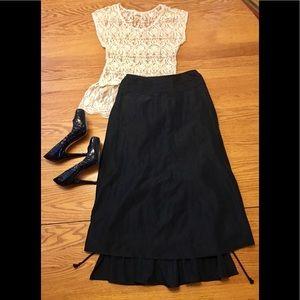 NWT STILETTO Black Skirt GORGEOUS!